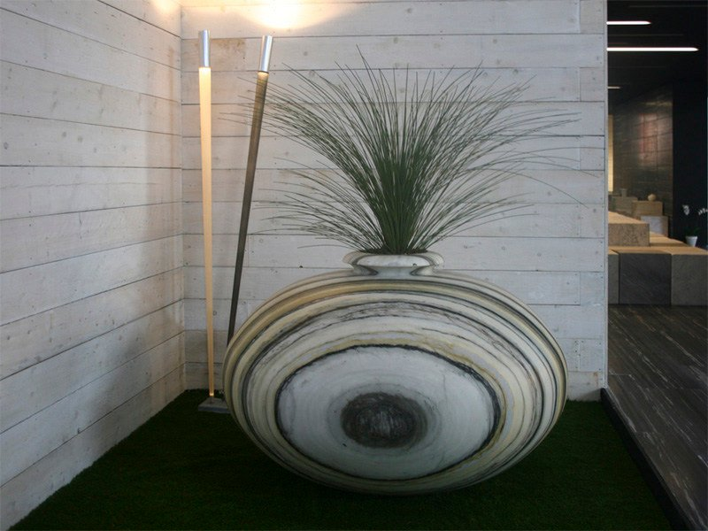 Marble Flower pot TJANDI | Marble planter by FranchiUmbertoMarmi