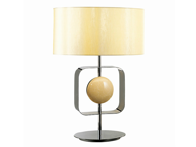 Brass table lamp TARGET MEDIUM by MARIONI