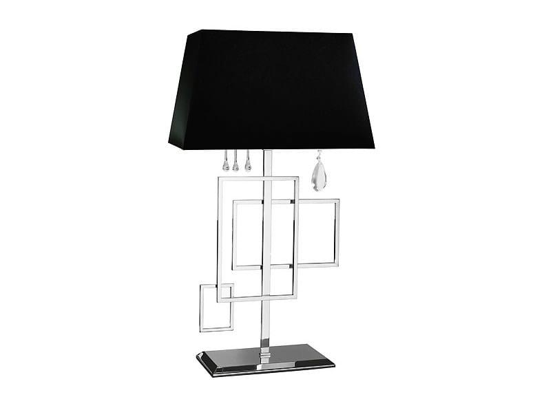 Lampada da tavolo in ottone FRAME | Lampada da tavolo by MARIONI
