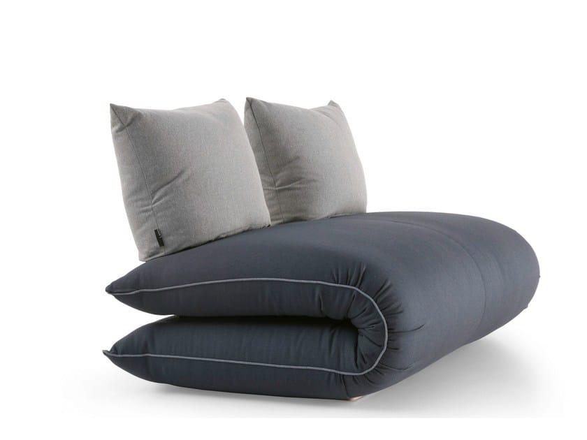 2 seater small sofa CHAMA | Small sofa by Lago