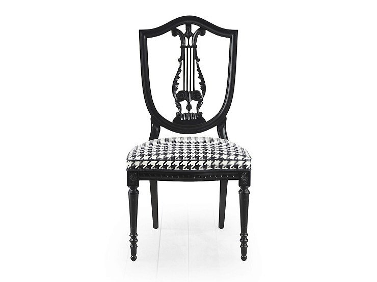 Open back chair CITRUS   Upholstered chair by MARIONI