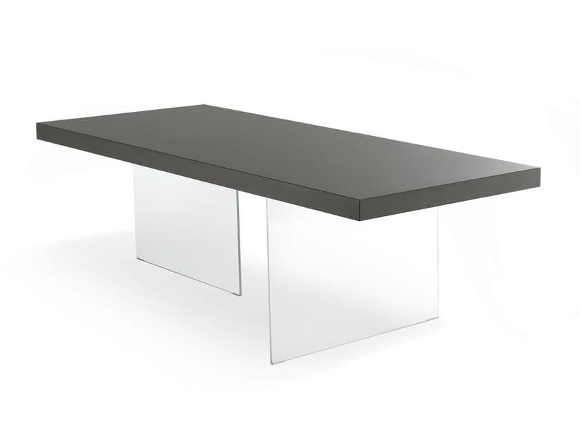 Rectangular quartz table AIR | Quartz table by Lago