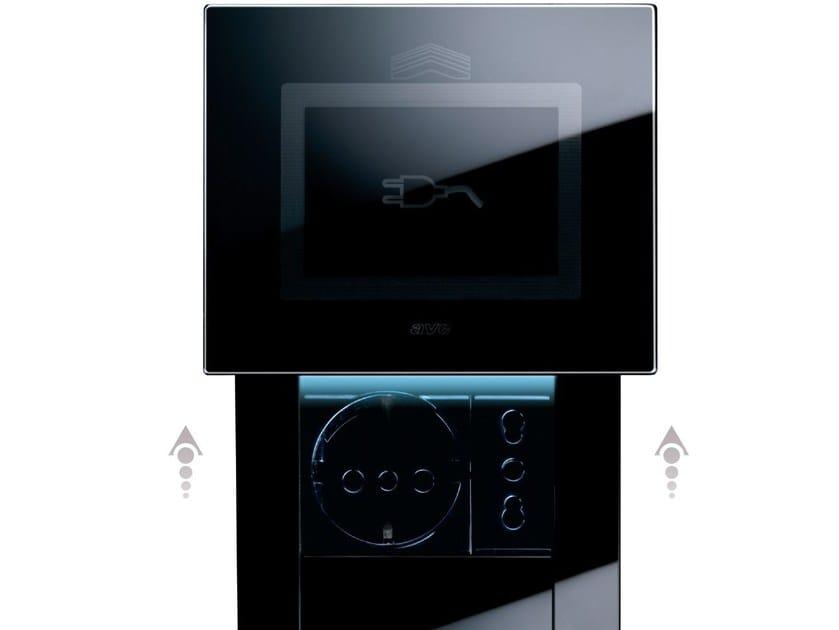 Presa elettrica a scomparsa in vetro LIFE TOUCH | Presa elettrica by AVE