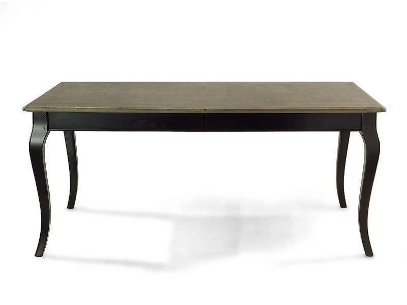 Extending rectangular solid wood table EAGLE | Rectangular table by MARIONI