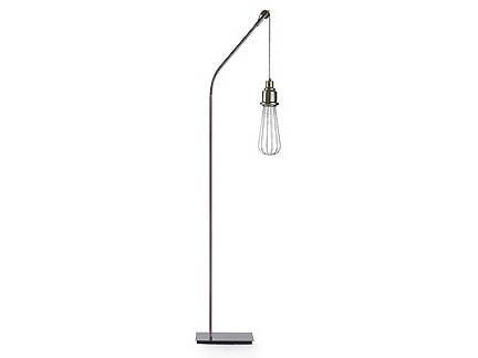 Metal floor lamp EDISON D | Floor lamp by MARIONI