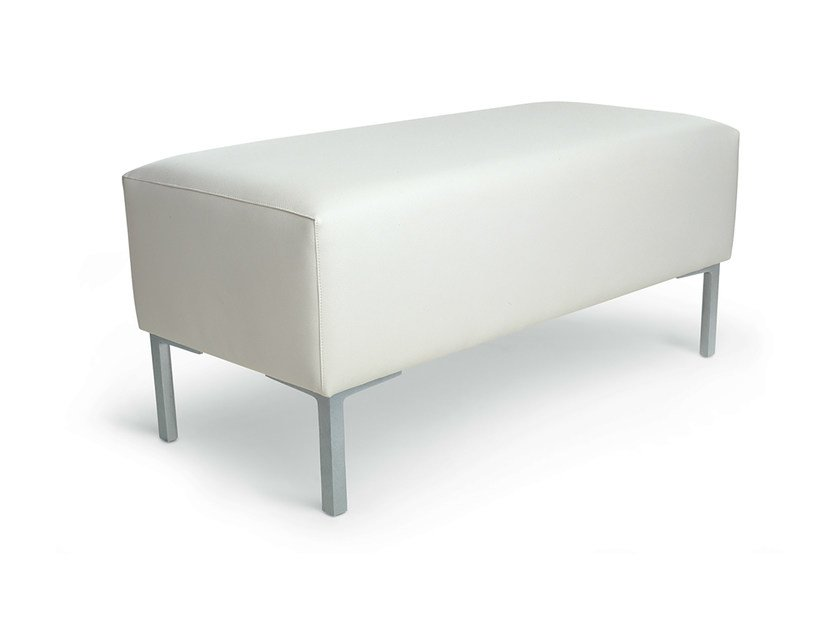 Backless imitation leather bench seating 4 EVER 2 by Gamma & Bross