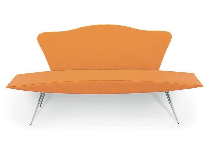 Imitation leather sofa GRILLO 2 by Gamma & Bross