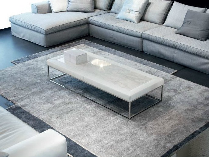 Low rectangular coffee table ADONE by ERBA ITALIA