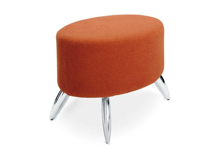 Upholstered pouf ISLAMORADA POUFF by Gamma & Bross