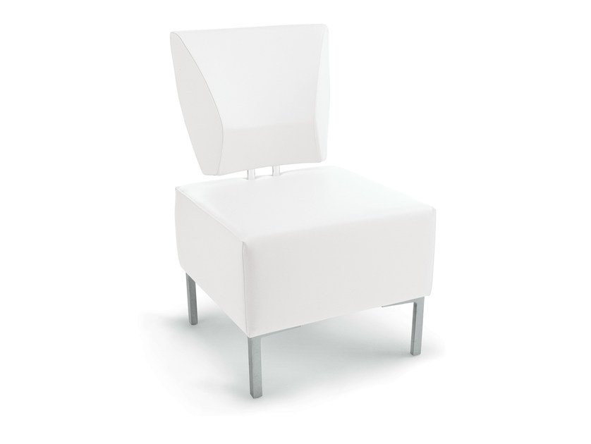 Upholstered easy chair KOTO by Gamma & Bross