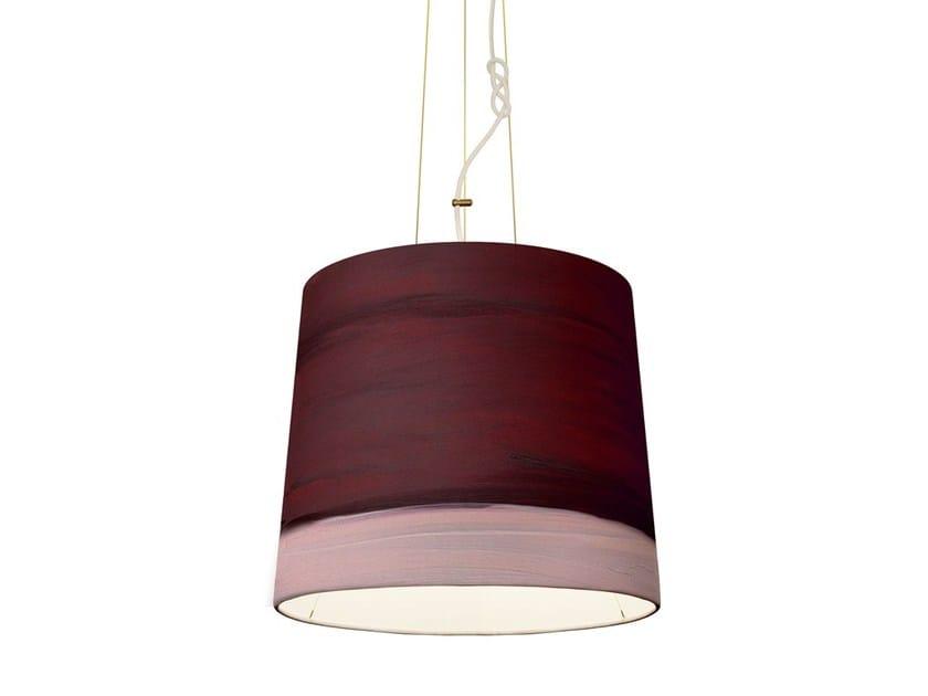 Handmade fabric pendant lamp DAWN | Pendant lamp by Mammalampa