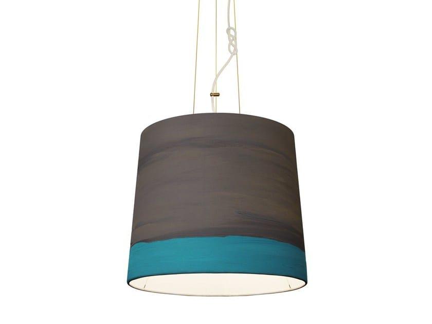 Handmade fabric pendant lamp RAIN   Pendant lamp by Mammalampa