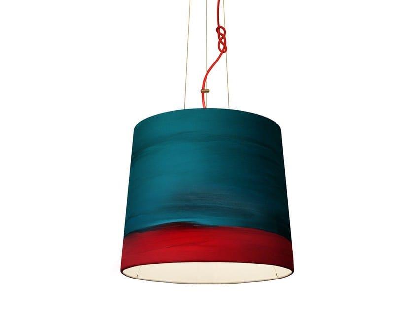 Handmade fabric pendant lamp AURORA | Pendant lamp by Mammalampa