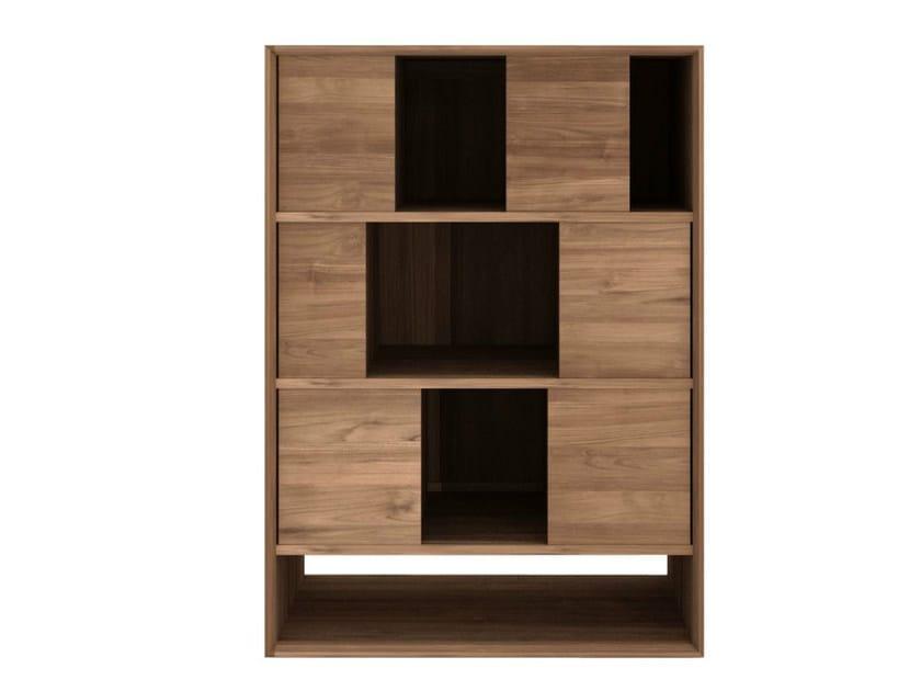 Open teak bookcase TEAK NORDIC | Bookcase by Ethnicraft