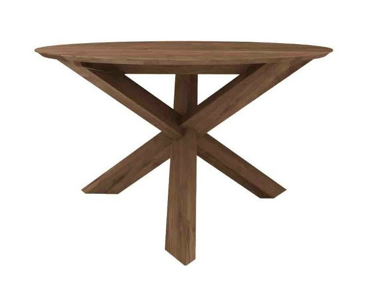 Round teak table TEAK CIRCLE | Table by Ethnicraft