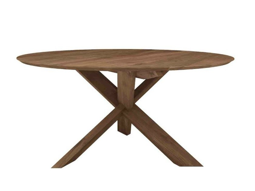 TEAK CIRCLE Table By Ethnicraft