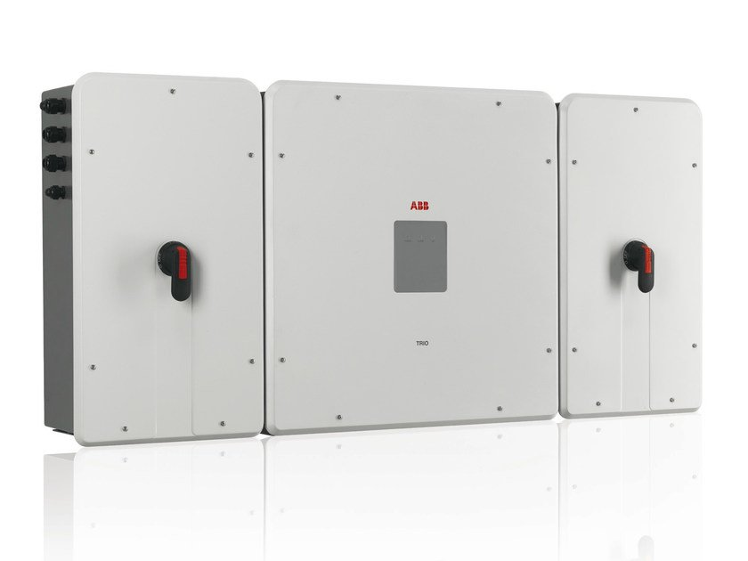 Three-phase Inverter for photovoltaic system TRIO-50.0-TL-OUTD by ABB
