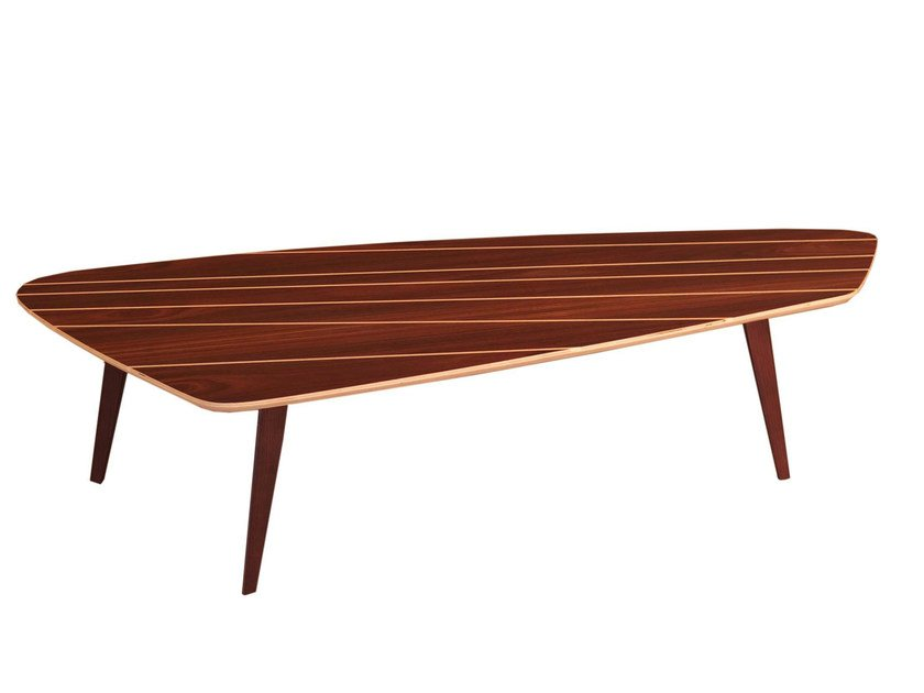 Low rosewood coffee table FRANK by Morelato