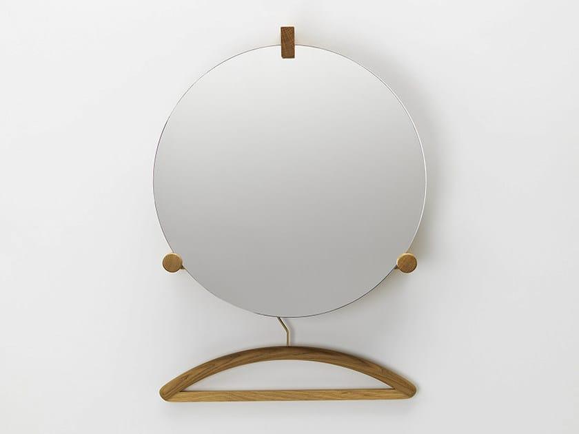 Mirror / coat rack JUNE by Zilio A&C