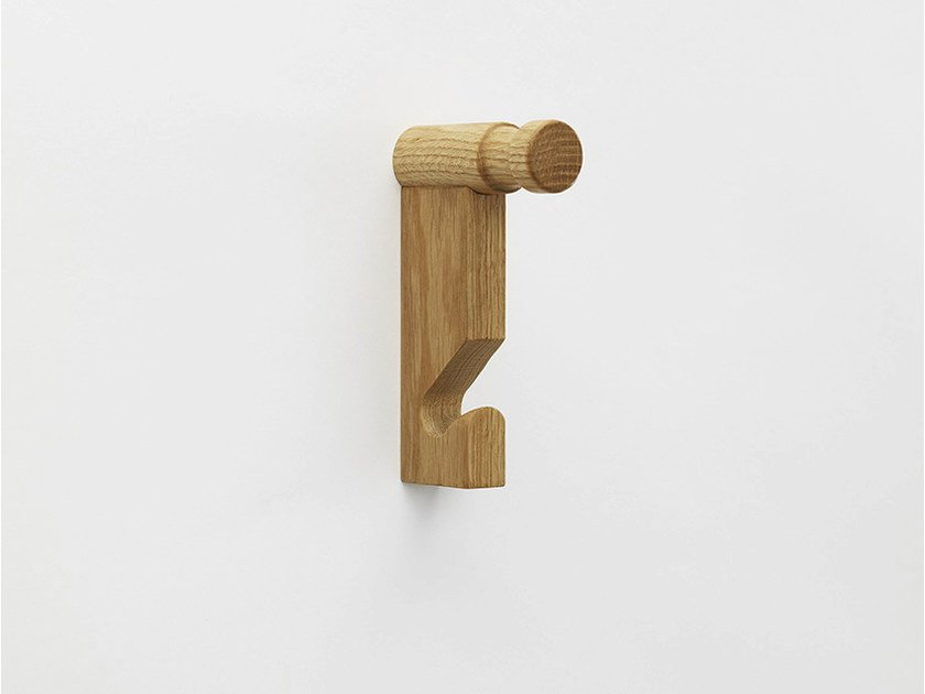 Wall-mounted wooden coat rack FRANK by Zilio A&C