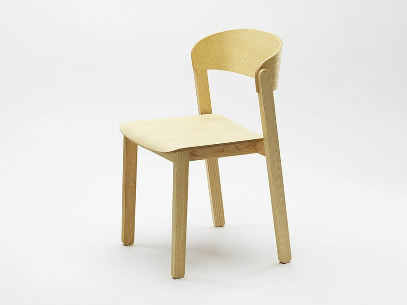 Stackable chair PUR by Zilio A&C