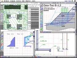 Processing geotechnical, penetrometer test GEO-TEC by INTERSTUDIO