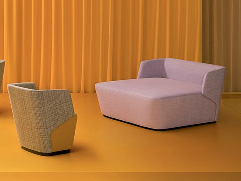 Upholstered fabric day bed EMBRACE JOLIE by ESTEL GROUP