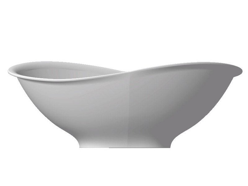 Vasca da bagno centro stanza in Pietraluce® MEG11 5418 by GALASSIA