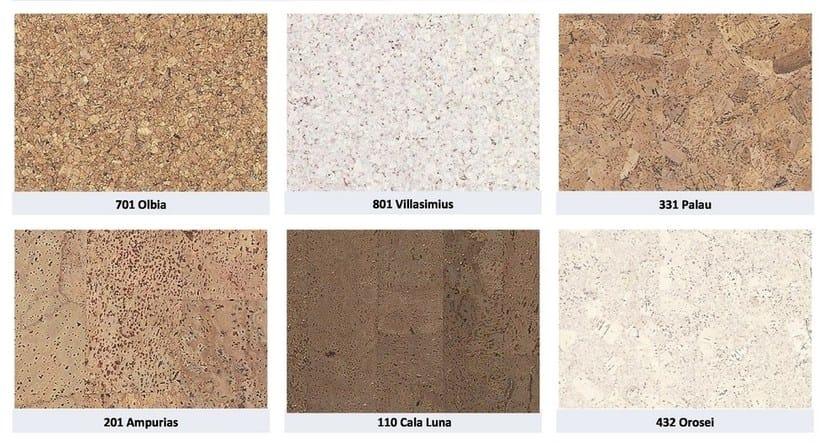 Antibacterial self-adhesive ecological wall/floor tiles KORKON by NANNI GIANCARLO & C.
