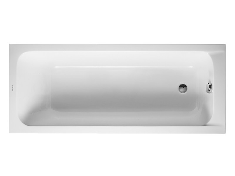 Built-in acrylic bathtub D-CODE | Built-in bathtub by Duravit