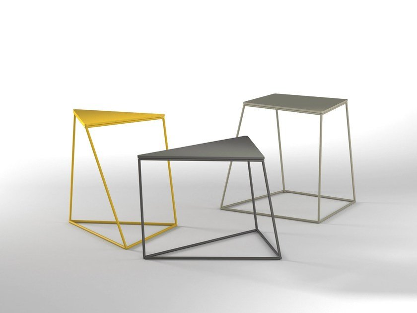 Lacquered metal coffee table KONA by Presotto