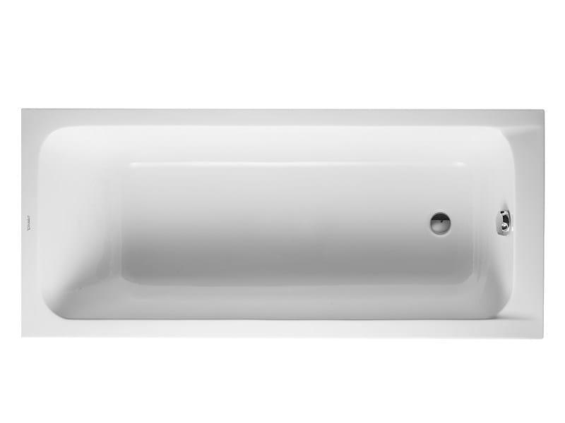 Built-in acrylic bathtub D-CODE | Bathtub by Duravit