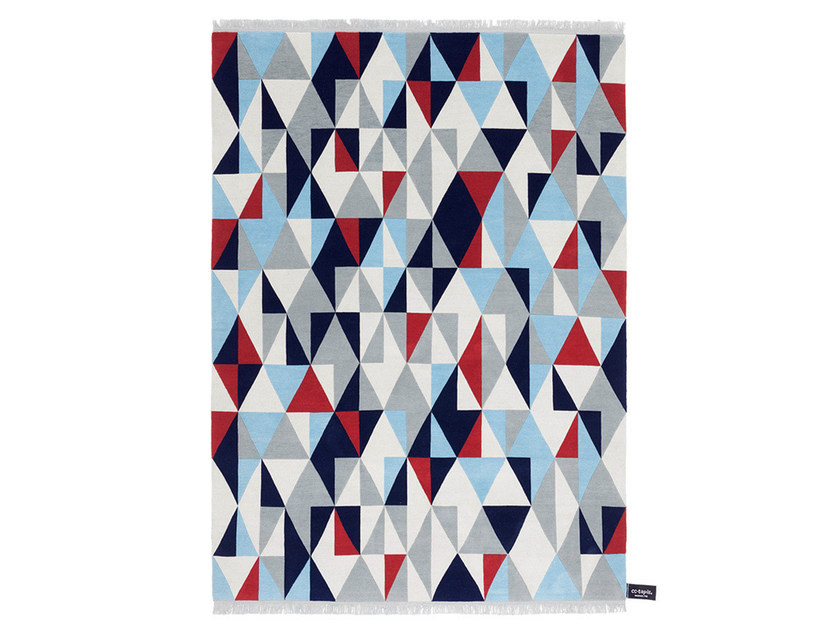 Handmade custom rug DIAMOND by cc-tapis