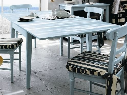 Rectangular wooden kitchen table EVERY DAY | Table by Callesella Arredamenti