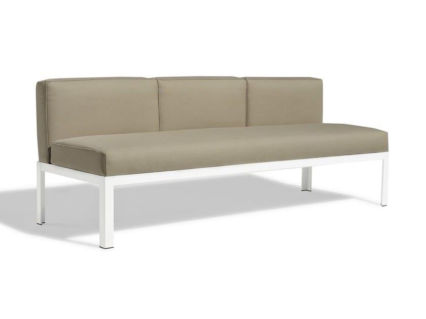 Sectional fabric sofa NAK 70   3 seater sofa by Bivaq
