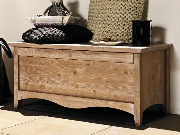 Wooden storage chest EVERY DAY | Storage chest by Callesella Arredamenti