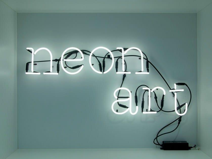 Wall mounted Light letter NEON ART by Seletti