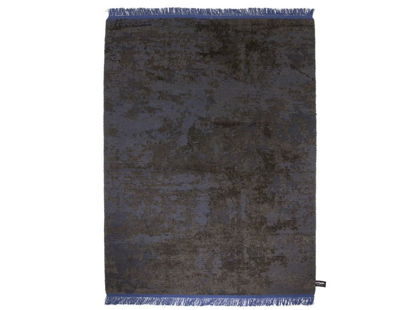 Handmade custom rug OLDIE FULL BLACK by cc-tapis