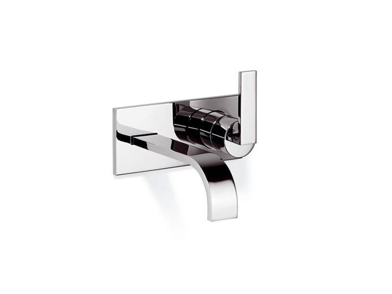 Wall-mounted single handle washbasin mixer MEM | Wall-mounted washbasin mixer by Dornbracht