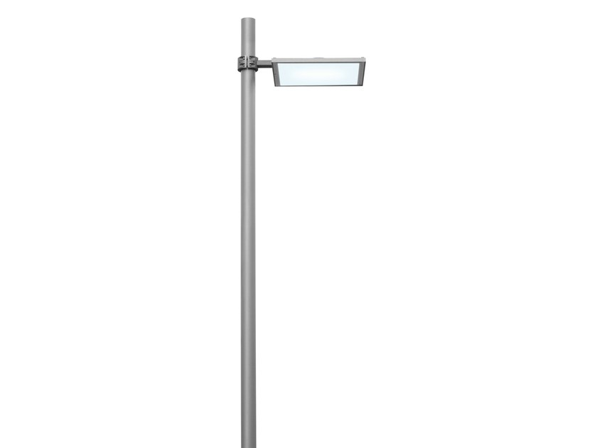 LED die cast aluminium garden lamp post UFO by iGuzzini