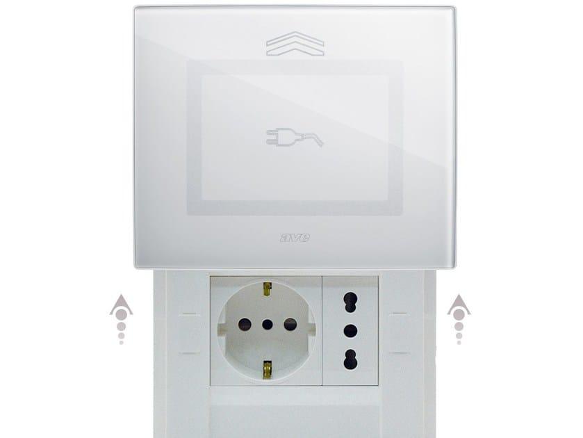 Presa elettrica in vetro DOMUS TOUCH | Presa elettrica by AVE