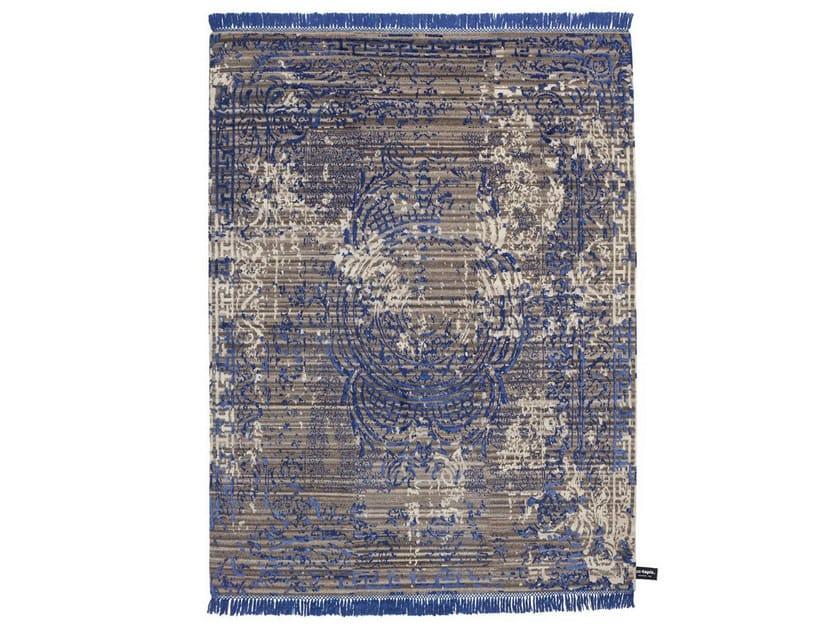 Handmade custom rug TRACES D'AUBUSSON CUSTOM by cc-tapis