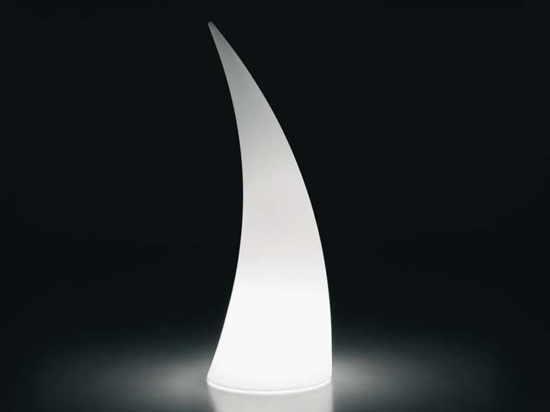 Lampadaire en polyéthylène HORN LIGHT by Plust