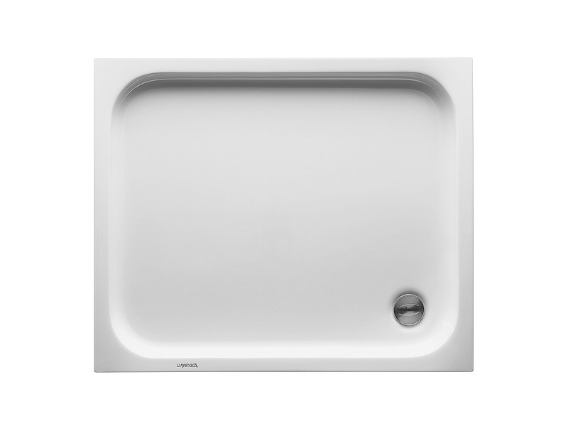 Rectangular acrylic shower tray D-CODE | 90 x 75 by Duravit