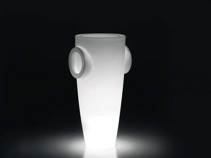 Lampada da terra in polietilene HUMPREY LIGHT by Plust
