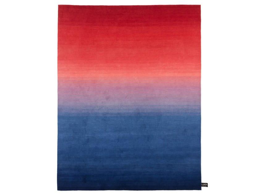 Handmade custom rug TYE 'N DYE BICOLOR by cc-tapis