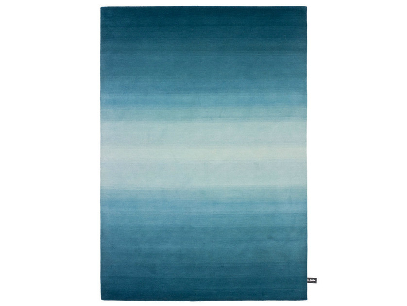 Handmade custom rug TYE 'N DYE by cc-tapis