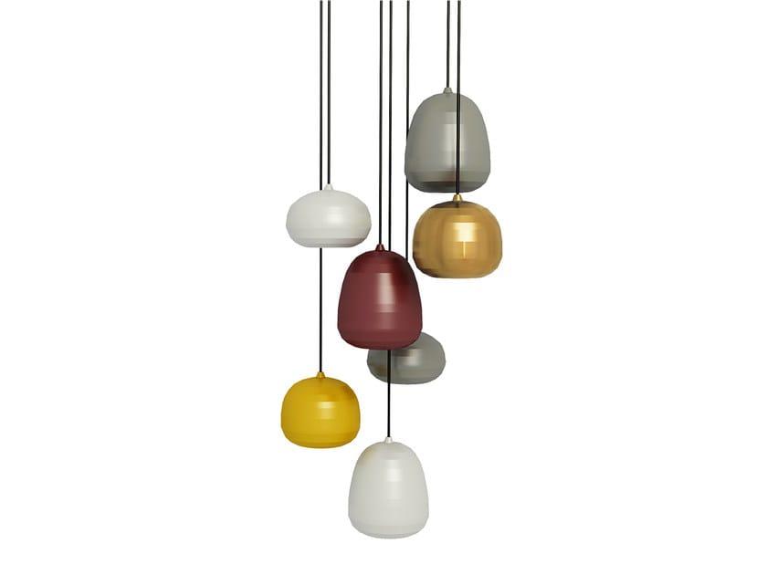 Metal pendant lamp POMI | Pendant lamp by ZERO