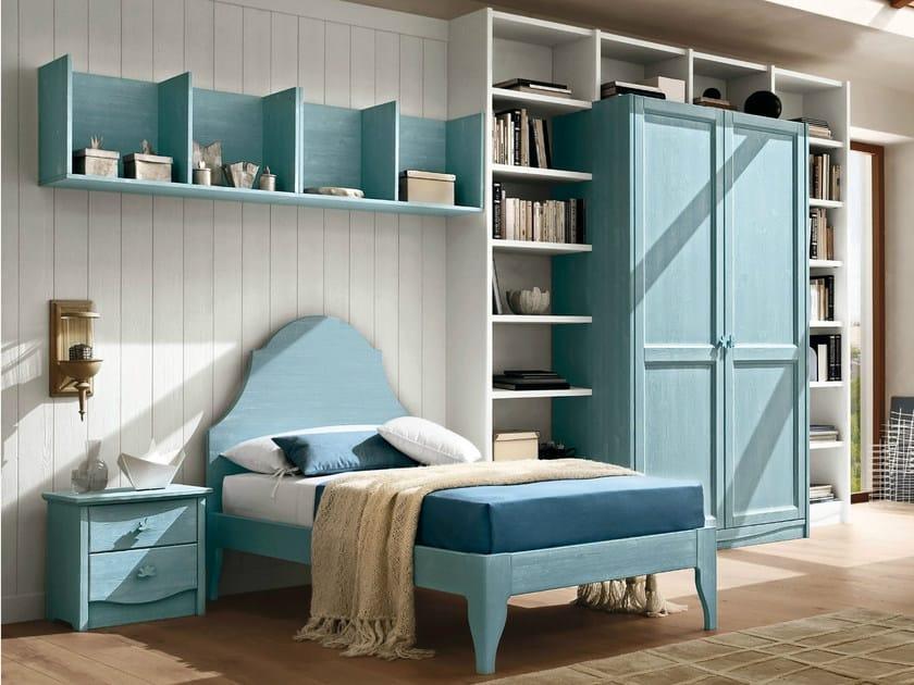 Cameretta in legno per ragazzi every day night composizione 03 callesella arredamenti - Camerette stile country ...