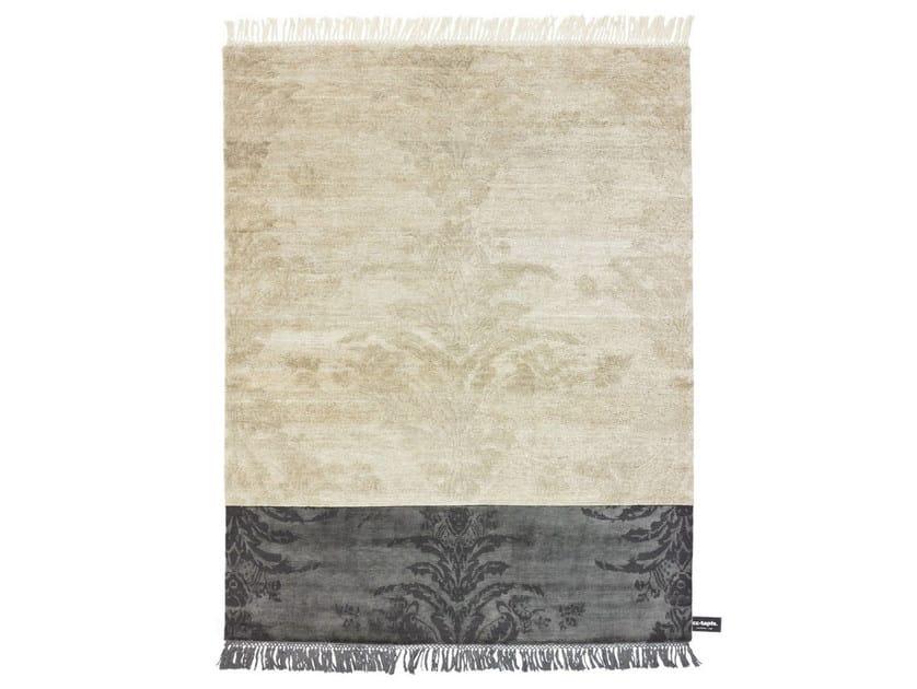 Handmade custom rug DIPPED DAMASK by cc-tapis